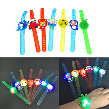 Hello Kitty minions Glow led bracelet birthday party decoration kids baby shower party favors girl boy gift supply event party(China)