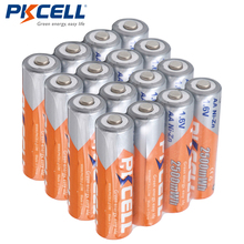 PKCELL 16pcs/lot Rechargeable NIZN AA 2500mWh NI-Zn 1.6V AA Battery for Cameras Toys(China)