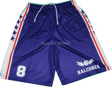 Wholesale 100% polyeter fabric Girls basketball sport shorts