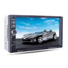 7 inches 2 Din in Dash OLED Digital Touch Screen USB TF Card DVD CD Video Player Bluetooth GPS Navigation Car Stereo Radio