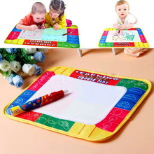 Water Writing Painting Drawing Mat Board &Magic Pen Doodle Kids Game Early Educational Toys