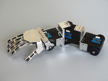 Humanoid 3DOF Robot Left Hand Right Hand Arm With Five Fingers Manipulator & Servo For DIY Robotics Arm Assembled
