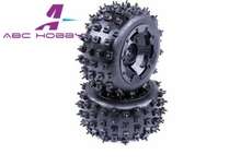 HPI RACING/KM HPI BAJA 5B 5T 5SC LOSI TDBX FS racing MCD Rovan 1/5 gas rc baja spare parts NEW PRODUCT 5B new knobby nail tyre(China)