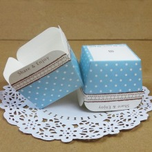 Share & Enjoy Cake Cup Color Dot Paper Cupcake Box Western Dessert Package 200pcs/lot CK166