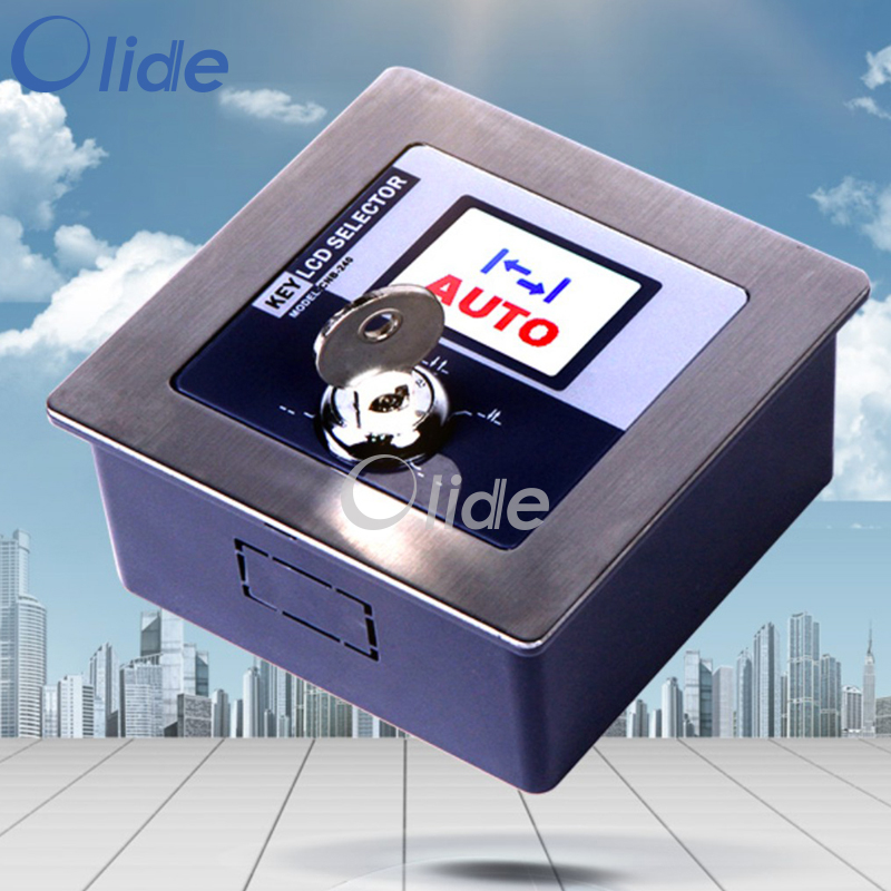 Five Position Key LCD Selector,Automatic Function Switch<br>