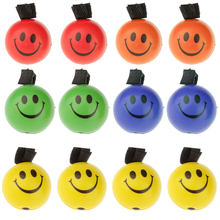 6.3cm Set of 12 PU Sponge Ball With Elastic String Bouncing Ball Release Pressure Assorted Color Best Gift for Child Kids Toys