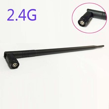 Wifi Antenna 2.4Ghz 10dbi high gain Omni with RP TNC connector plug foldable NEW Wholesale ham radio antenna