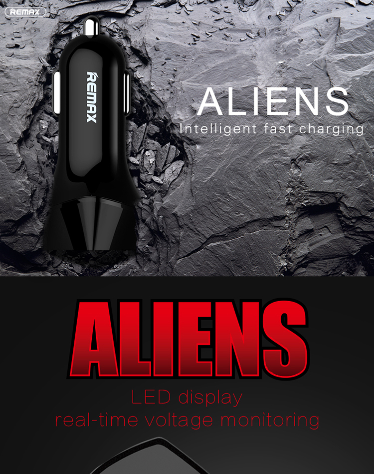 REMAX Alien Car Charger_01