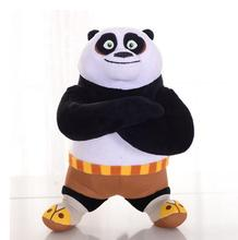 1pc 20cm Kung Fu Panda Stuffed Animal Plush Toys Cute Doll  Collectible Soft Stuffed Anime Doll Baby Kids