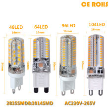 2017 Lowest price LED Bulb SMD 2835 3014 LED G4 G9 LED lamp 9W 10W 12W led Light DC12V AC220V 360 Degree Replace Halogen Lamp(China)