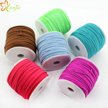 Free shipping 50yds/lot 10yds/color 30colors 1/8 Skinny Elastic 3mm Width DIY Kids Headbands Hair Accessories YOU PICK 5 COLORS