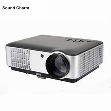 New Full HD native 1280x800 Portable 3D Proyector Video Home Theater Cinema Projectors support 1080P(China)