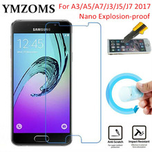 Buy Soft Explosion-proof Nano Protection Film Foil Samsung Galaxy A3 A5 A7 J3 J5 J7 2017 Screen Protector Tempered Glass for $1.44 in AliExpress store