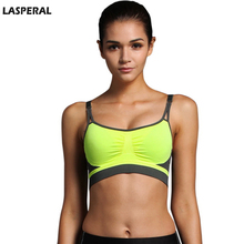 LASPERAL Women Bras Top Wireless Padded Push Up Bra Breathable Girl Brassiere Underwear Adjusted-Straps Female Cropped Top(China)