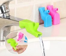 3pcs/set New Arrival Faucet Extender For Kids Hand Washing In Bathroom Sink Water Saving Tap Baby Washing Lengthening Device(China)