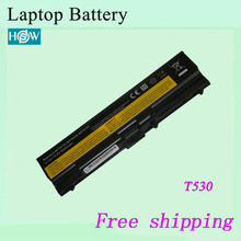 Notebook battery For LENOVO laptop battery For ThinkPad T430 T430i T530 W530