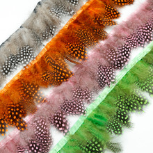 10 meters 4 colors for choosing Chicken pheasant feather, for Dress Skirt Party Clothing Decoration & DIY Craft Making