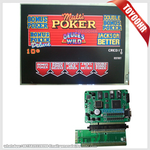 New Slot Game Multi Poker 5 in 1 Casino Gaming Board video poker boards(China)
