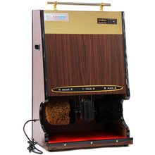Fully Automatic Induction Shoe Shine Machine Hotel Vertical Electric Brush Leather Shoes Shaker(China)