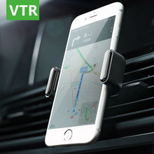 Universal Phone Car Holder Air Vent Mount 360 Degree Rotation Universal Mobile Phone GPS Holder car-styling For iphone 6 7 Plus