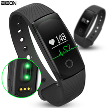 Fitness Bracelet Activity Tracker Smartband Heart Rate Pulse Monitor Smart Band Step Counter ID107 Wristband For Android&IOS