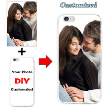 Custom Design DIY Hard PC Case Cover For Alcatel One Touch Idol 3 5.5 inch 6045 6045Y 6045K Customized Photo Cell Phone Case