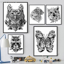 MYCELLA DIY 5D Diamond Mosaic Illustration Diamond Painting Cross Stitch Kits Butterfly Owl Full Diamonds Embroidery Home Decor(China)