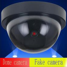 ABS plastic Dome camera  Dummy CCTV Camera  simulation  Flash Blinking LED Fake Camera Security Simulated video Surveillance
