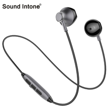 Sound Intone H2 Wireless Headphones With Microphone Stereo Bass Sport Running Bluetooth Earphonoe For Android iPhone mp3 Player(China)