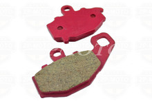 High-Quality CARBON CERAMIC ROAD BRAKE PADS For KAWASAKI ZZR 600 93-07 ZX-6R 95-10 ER-6F ER-6N 06-10 KLE650 07-10 (Rear)