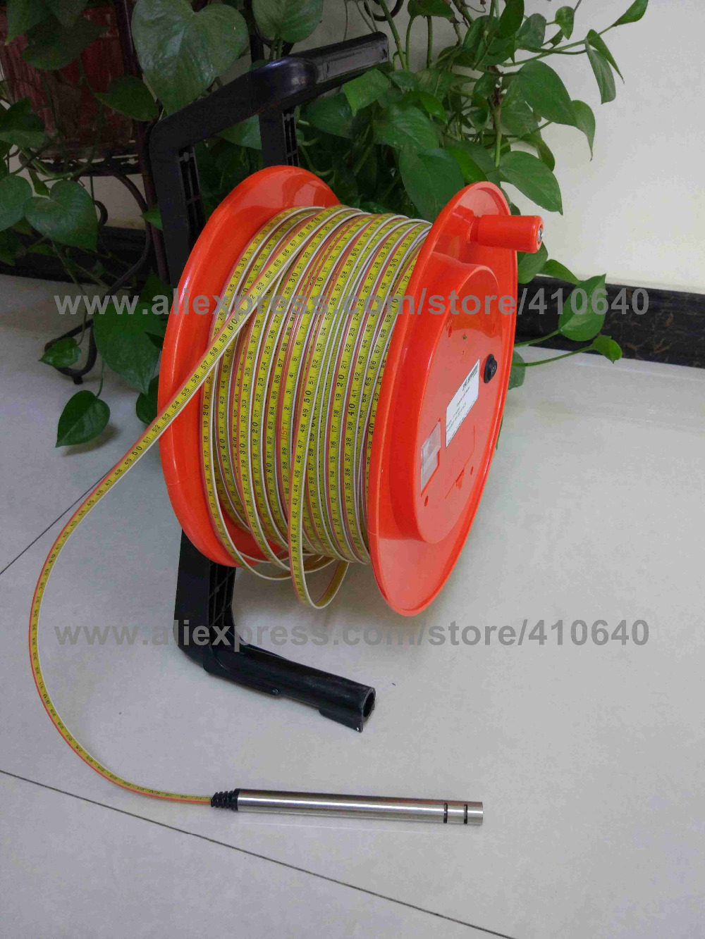 150m() Steel Ruler Water Level Meter (8)