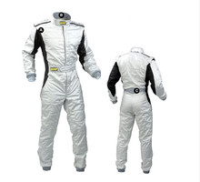 2017 new car racing suit coverall polyester 4color size XS-4XLfit men and women clothing  no fire