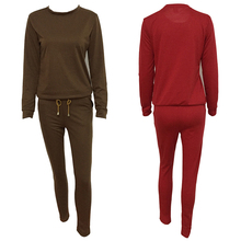 Tops Pants Casual Sets Sweat shirt swear  Suit Tracksuit Ladies