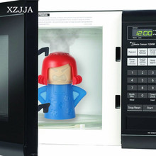 XZJJA Microwave Cleaning Angry Mom Oven Steam Cleaner Disinfects With Vinegar and Water Household Cleaning Tools(China)