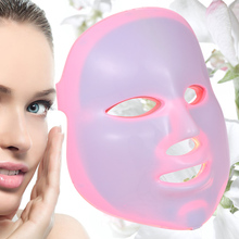 7 Colors Timing PDT Facial Skin Care Light LED Home Use Daily Photon Beauty Therapy Mask Lamp Anti-aging Acne Wrinkle