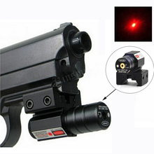 Buy Laser Red Sight Dot 50~100M Range 635-655nm Glock Pistol Adjustable 11mm 20mm Picatinny Rail (Battery included) for $6.99 in AliExpress store
