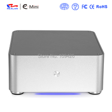 Realan PC Case ITX All aluminum Case Mini ITX(China)