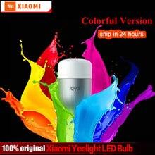 Original Xiaomi Yeelight Blue II LED Smart Bulb (Color) E27 9W 600 Lumens Mi Light Xiaomi Mijia Smart Phone WiFi Remote Control