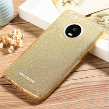 Case for Moto G5 G5 Plus KEZiHOME Hybrid three layer Soft TPU 3 in1 Girl Fashion Shining Cover capa for Motorola Moto G5 Plus G5