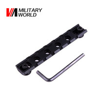Airsoft Tactical Gun Scope Extent Mount Hunting Picatinny Weaver 20mm Standard Adapter Rail Mount Base with Universal Wrench(China)