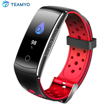 Buy Teamyo Color Screen Smart Bracelet Heart Rate Monitor IP68 Waterproof Fitness Tracker Bluetooth Smart Watch Android IOS for $22.98 in AliExpress store