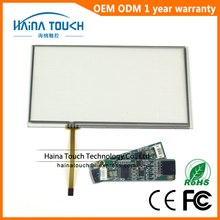 Raspberry Pi Compatible 16.4*9.9 cm 7 inch includes USB Controller 4 Wire Resistive Touch Screen Panel For GPS Navigator