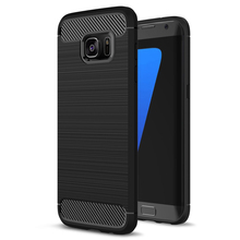 Soft TPU Silicon Case For Samsung Galaxy S7 S7 Edge Luxury Hybrid TPU Armor case For Samsung Galaxy S7 Edge Mobile Phone Cover(China)