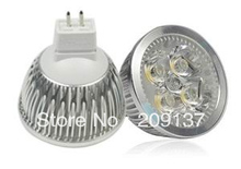 LED Mr16 12W Dimmable CREE Replacement 50W Warm cool white DC /AC12V Gu5.3 led lamp free shipping