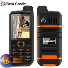 Dust proof VKWorld Stone V3 Plus Mobile Phone 3000mAh Long Standby Cellphone 2.4 inch Dual SIM Bluetooth FM Radio V3 Plus(China)