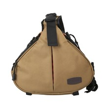 CADeN K1 Triangle Crossbody Shoulder Bag For Canon Nikon DSLR Camera Messenger Bag 4 Color