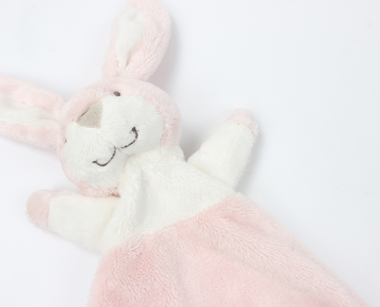 Baby-Comforter-Blanket-Soothing-Towel-Newborn-Security-Blankets-Soft-Plush-Bunny-Rabbit-Doll-Baby-Toys-Handkerchief-0-12-Months-07