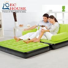household Inflatable bed lounger portable sofa flocking FREE SHIPPING