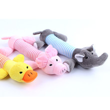 Plush Chews Pet Dog Toys Treat Tooth Clean New Design Chien Honden Speelgoed Squeaker For Puppy Dog Shop Manufacturers DDMZBB