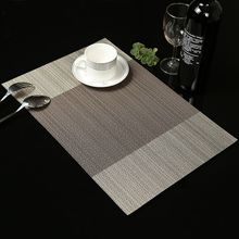 4Pcs PVC Insulation Bowl Tableware Placemat Place Mat Coaster Dining Table Decor
